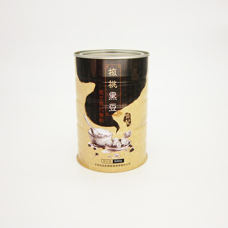 核桃黑豆铁罐
