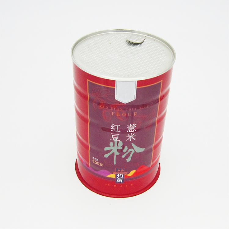 红豆薏米粉铁罐