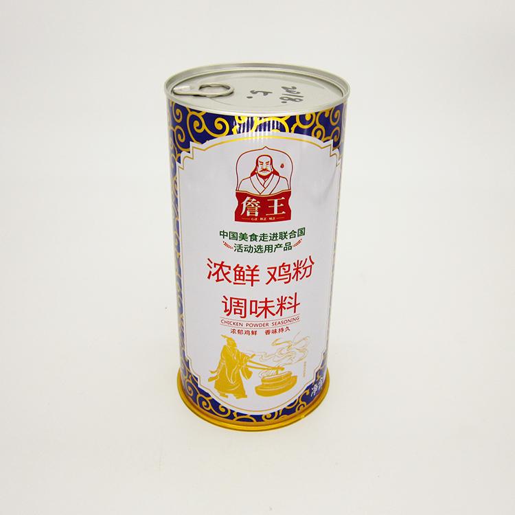 浓鲜鸡粉调味料铁罐