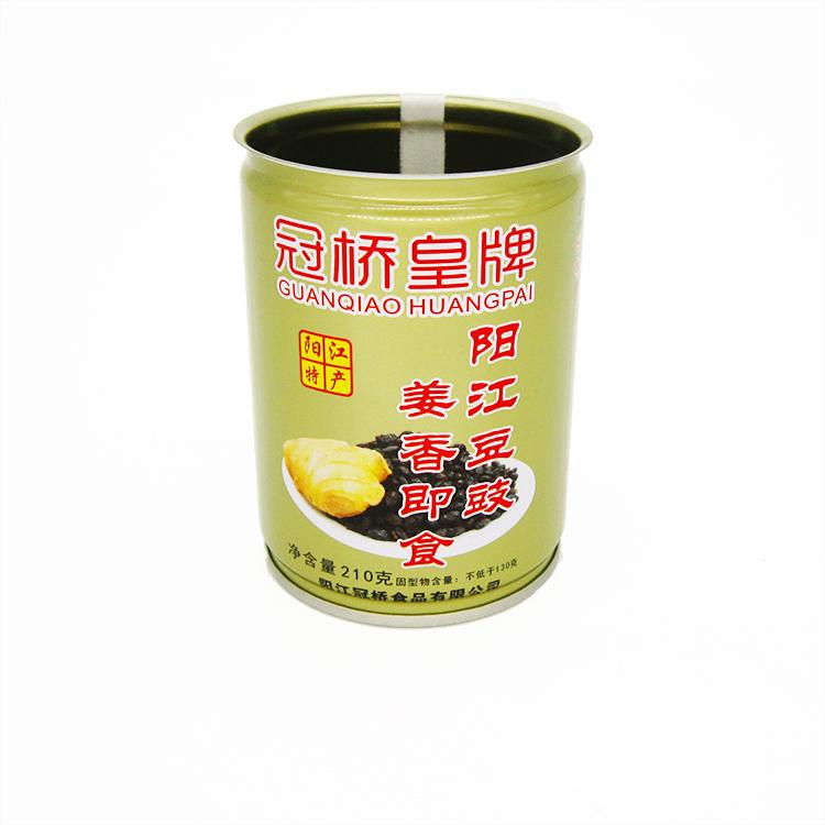 姜香豆豉铁罐