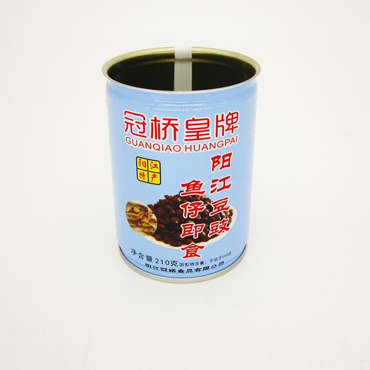 鱼仔豆豉铁罐