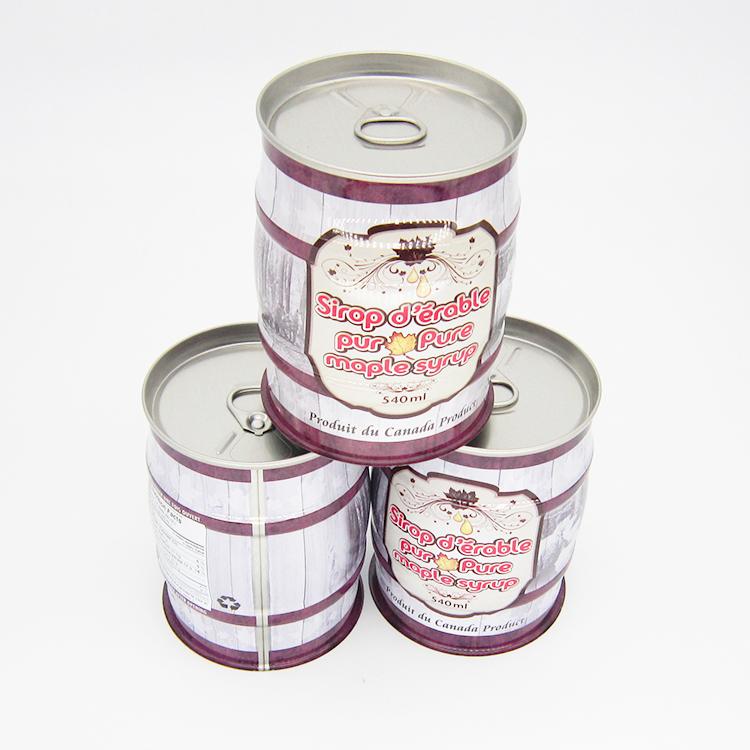 纯枫糖浆铁罐