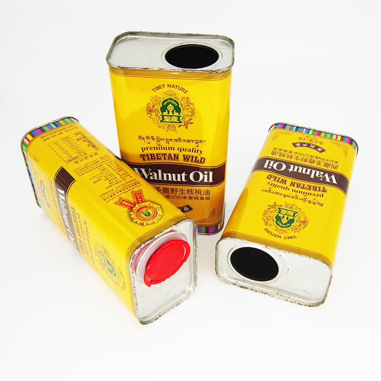 野生核桃油铁罐